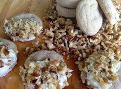 The Preppy Hostess : White Chocolate Dipped Maple Cookies - Follow @ thepreppyhostess.blogspot.com