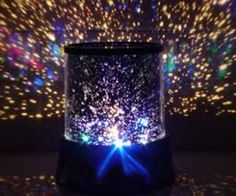 Enjoy a majestic nighttime sky even if smog or light pollution have overshadowed the actual sky above with the starry night projector. It projects 360 degrees of jaw dropping visuals ideal for introducing kids to astronomy or creating a romantic mood for an intimate date.