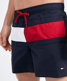 Upgrade your summer wardrobe with the Footasylum collection of men's swim shorts. Mens Swim Shorts, Men's Shorts, Men's Swimsuits, Swimwear, Mens Casual Suits, Tommy Hilfiger T Shirt, Men's Swimming, Workout Shorts, Hollister