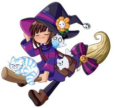 Little witch by Wizaria