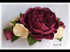 Şahane bir çiçek yapıyoruz. Gelin çiçeği modellerinde, konvoy süsü modellerinde, çeşitli süslemelerde kullanacağınız süper bir gül. Eva kağıdı ile yapılan