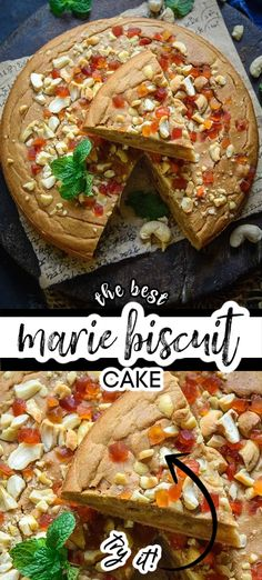 Easy Cakes To Make, How To Make Cake, Indian Food Recipes, Asian Recipes, Ethnic Recipes, Marie Biscuit Cake, School Cake, Flourless Cake, Middle Eastern Recipes