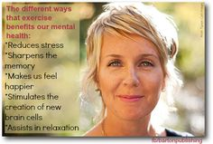 Exercise and Mental Health Benefits