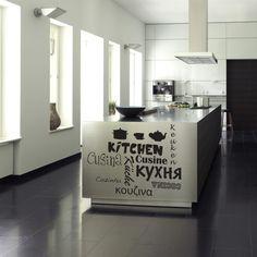 decoraciones en vinil para cocinas -