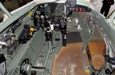 De Havilland Mosquito cockpit