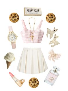 """cookie cutter"" by petitepasserine ❤ liked on Polyvore featuring RED Valentino, Dolce&Gabbana and Forever New"