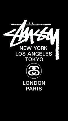 あ Stussy Wallpaper, Nike Wallpaper, Text Design, Logo Design, Cat Phone Wallpaper, Yg Rapper, Stussy Logo, Gothic Wallpaper, Supreme Wallpaper