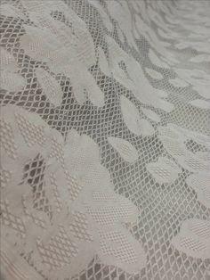 Tecido tela bordada cinza carrilhão de vento