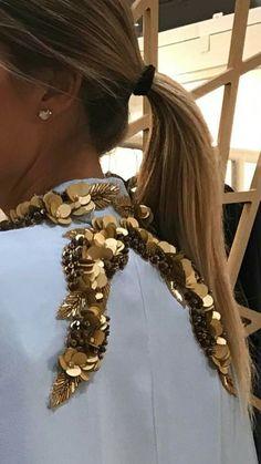 Ricamo Ali Tambour Embroidery, Couture Embroidery, Abstract Embroidery, Hand Embroidery Designs, Abaya Fashion, Couture Fashion, Parisian Style, Parisian Fashion, Couture Beading