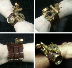 Steampunk watch/arm gadgetry by TimBakerFX