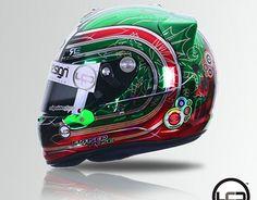 "Check out new work on my @Behance portfolio: ""Dhabi Karting Helmet"" http://on.be.net/1Pc6kwi"
