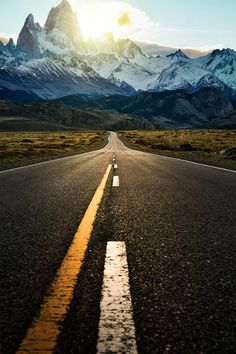 The road to Fitz Roy, Patagonia - by Jimmy McIntyre