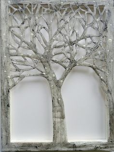 The Tree-Sillouhette cut-out of a tree on by Yanartshop on Etsy