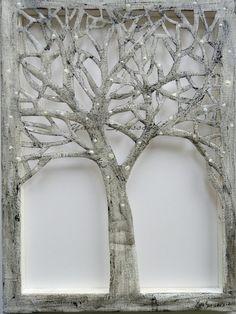 The Tree-Sillouhette cut-out of a tree on by Yanartshop on Etsy