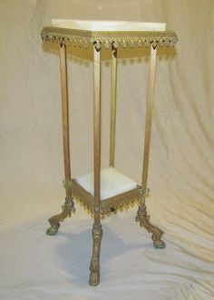 Intelligent Victorian Antique Arts & Crafts Solid Fretwork Oak Plant Jardiniere Stand Table 1800-1899 Furniture