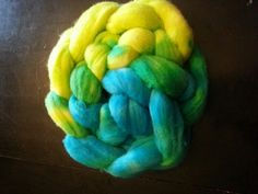 Hand dyed braid