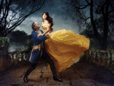 Penelope Cruz and Jeff Bridges got the Disney treatment in a new photo series shot by famed photographer Annie Liebovitz.
