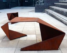 faceted corten steel - Google Search