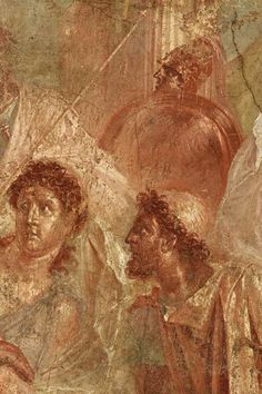 Pompeian fresco re edition. available for buyers. size on demand.