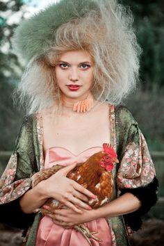 Wonderfully creative!  Fashionable Farmville - My Modern Metropolis