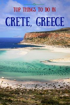 TOP things to do in CRETE Greece - the Balos lagoon