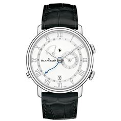 Blancpain [NEW] Villeret Small Seconds Date & Power Reserve (Retail:HK$197,000) - Special Discount Price at: HK$ 118,000.