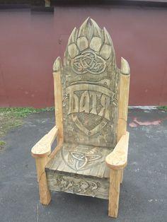 Throne from the Angara pine.
