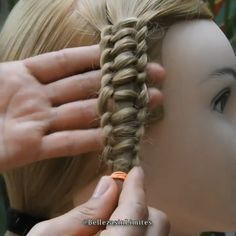 Easy Hairstyles For Long Hair, Braids For Long Hair, Hairstyle Men, Funky Hairstyles, Formal Hairstyles, Weave Hairstyles, Hair Tutorials For Medium Hair, Medium Hair Styles, Long Hair Styles