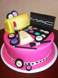 MAC Cake At Roscoe Bakery Los Angeles CA Makeupcake