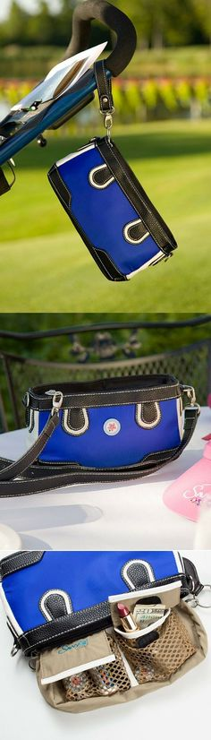 The perfect purse for on and off the golf course.  Organize everything including your lipstick.  Great gift for ladies who golf.