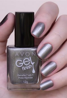 Fabulous DIY Faux Paint & Gel Stain Finishes for the Modern Home Avon Nail Polish, Avon Nails, Cute Nail Polish, Nancy Nails, Nail Art Techniques, Chic Nails, Great Nails, Nail Trends, Manicure And Pedicure