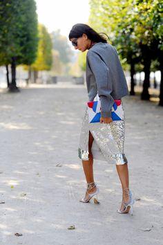 brilliant. Gio in Paris. #GiovannaBattaglia