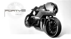 Bmw boxer cafe racer motorcycle concept Riccardo Angelini works http://redpencilpropeller.tumblr.com/post/133712084293