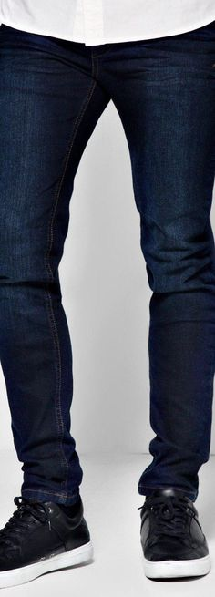 Dark Blue Skinny Jeans - Jeans  - Street Style, Fashion Looks And Outfit Ideas For Spring And Summer 2017