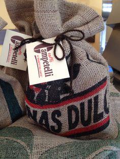 Coffee bags gifts juta Caffè Campetelli