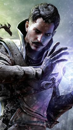 750x1334 Wallpaper dragon age inquisition, magician, wizard, dorian, bioware, electronic arts