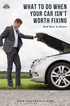 Compare the repair costs to the price of the vehicle. If the repair costs outweigh the price, then your car isn't worth fixing. Once that determination has been made, you can sell your junker vehicle to a private buyer, dealership, online car buyer, junkyard, or part out the car on your own. At least you'll get some money for your car in this situation. Car repairing, car fixing, car selling, perfecr time to sell your car. #carrepair #carfixing #carselling #perfecttimetosellyourcar Car Parts And Accessories, Car Fix, Jeep Parts, Isn, Online Cars, Car Buyer, Tonneau Cover, Roof Rack, T Rex