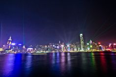 The Symphony of Lights in #HongKong #travel #photography