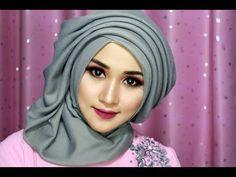 Cara Hijab Segi Empat WISUDA,WEDDING Dengan Beragam Pariasi Dan Model Kekinian 1 - YouTube