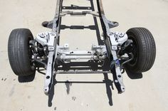 The Crown Vic assembly is easily adapted to the 1967 Ford and is an affordable alternative for those on a budget. Check out how we got our cop suspension! 67 Chevy Truck, F100 Truck, Car Ford, Classic Ford Trucks, Lifted Ford Trucks, Pickup Trucks, Cool Trucks, Cool Cars, Old Pickup