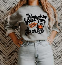 Fall is approaching and who doesnt love a PSL? Snag this cozy sweater while its still available. #fallsweater #pumpkinspicelover #autumnsweater #smallbusiness #smallbusinessowner #explorepage Cute Sweaters For Fall, Cozy Sweaters, 1st Fathers Day Gifts, Sweater Pumpkins, Sweater Weather, Pumpkin Spice, Trending Outfits, Sweatshirts, How To Wear