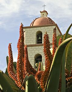 ✮ Flamboyant Santa Barbara Mission - Santa Barbara, CA