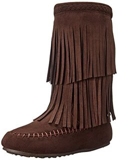 Rampage Britt Fringe Boot (Little Kid Big Kid) - From Shoes to Sandals.  Abigail · Girls Boots f4691b51c844