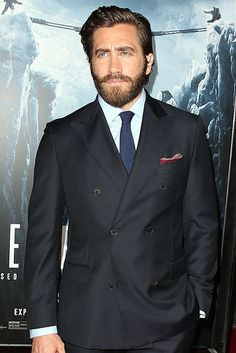 "Jake Gyllenhaal And Jason Clarke Talk Who They'd Bring On An ""Everest"" Climb--these guys are so adorable!"