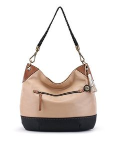 Another great find on #zulily! Sahara Color Block Indio Leather Hobo #zulilyfinds