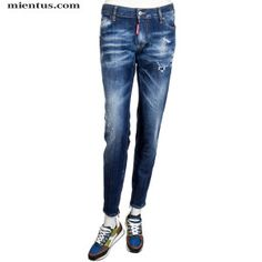 DSQUARED2 Jeans Skinny Spotted Blue