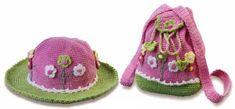 Handbag and Hat for Girls 3
