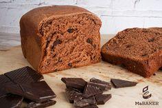 MaBAKER®  BRIOCHE DE CHOCOLATE NEGRO - Ma Baker, Bread, Recipe, Food, Breads, Sweets, Six Packs, Breakfast, Black