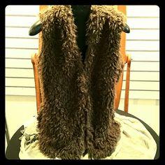 Vest Poodle vest 100% VEGAN FUR GO COCO Jackets & Coats Vests
