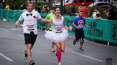 Lars & Sarah | Heart & Arrow Events | Marathon Wedding | Runner Wedding | Austin Marathon | Running Bride Heart With Arrow, Marathon Running, Events, Bride, Wedding, Tops, Fashion, Happenings, Mariage
